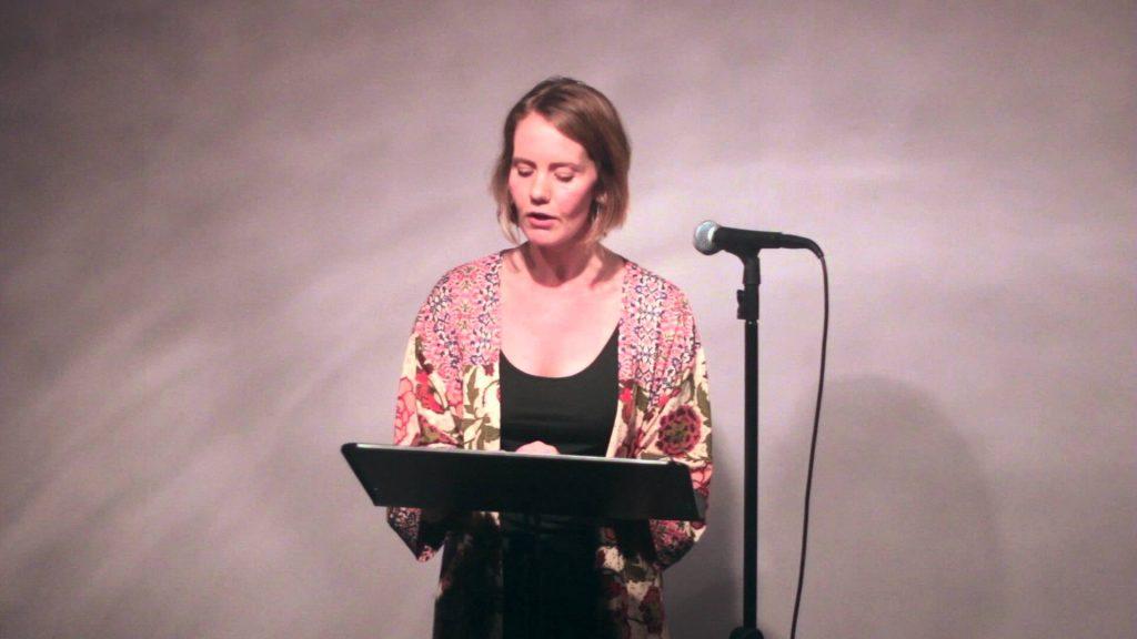 Poet Leanne O'Sullivan Reading