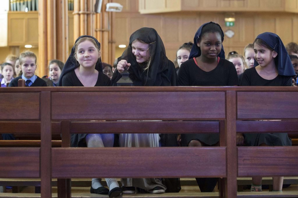 Nano's story brought alive by Presentation students in Cork's North Cathedral